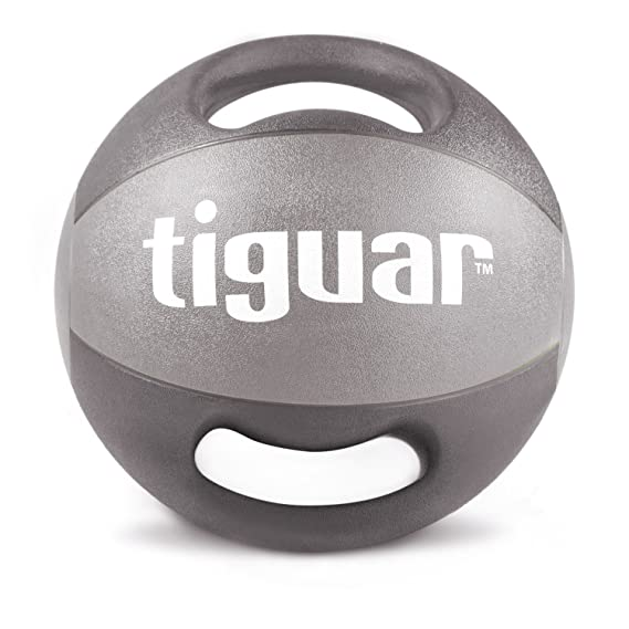 tiguar Balón Medicinal con asas Peso Balón de entrenamiento ...