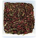 Tealyra - Raspberry Punch - Sweet Green Tea with Hibiscus and Raspberry - Loose Leaf Tea - Hot or Iced Tea - Caffeine Low - All Natural Ingredients - 110g (4-ounce)
