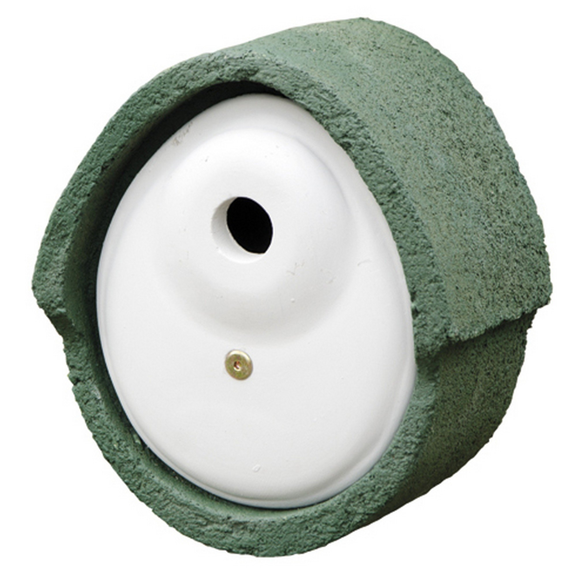 C J WoodStone Durable Oval Nest Box (1.2in) (Green)