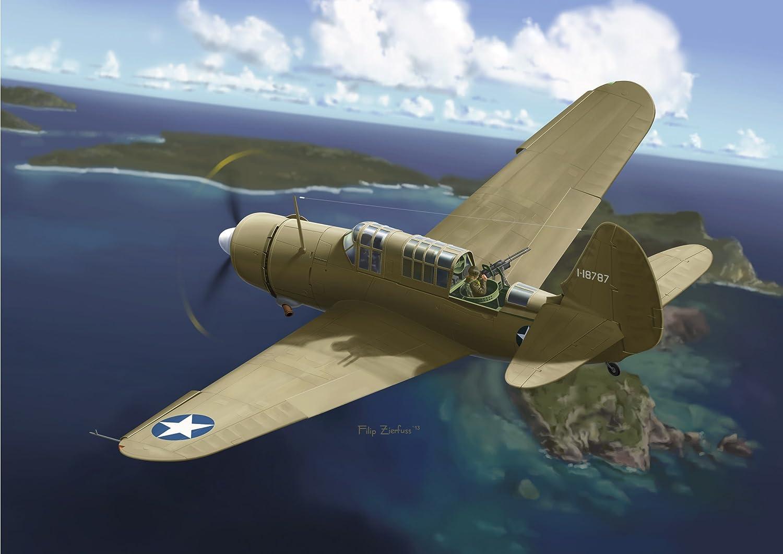 Cyber Hobby - Modellino Aereo Wing Tech Series Ww.Ii U.S. Army Curtiss A-25A-5-Cs Shrike Scala 1 72 (Giappone Import)