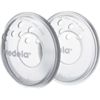 Medela SoftShells Breast Shells for Sort Nipples for Pumping or Breastfeeding, Discreet Breast Shells for Your Unique Body, Flexible and Easy to Wear, Made Without BPA