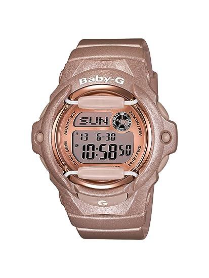 Casio BG169G-4 - Reloj de Pulsera Mujer, Resina, Color Rosa: Casio: Amazon.es: Relojes