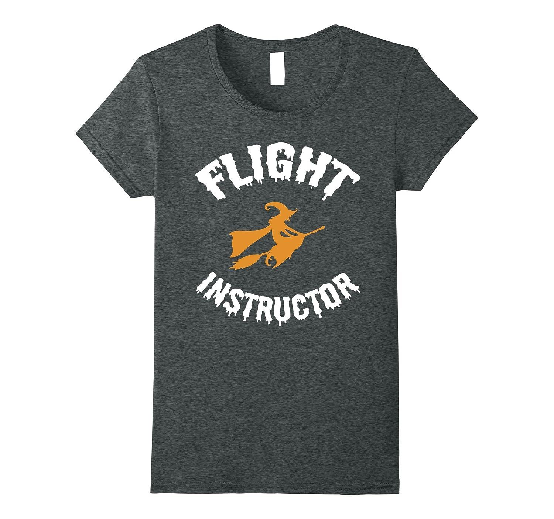 Womens Flight Instructor Witch Halloween Costume C1 T-shirt-Art