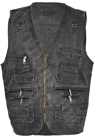 Clothing Unit Mens Gilet Body Action Waist Coat Country Hunting Safari  Fishing Vest (2XL 4921db8747f