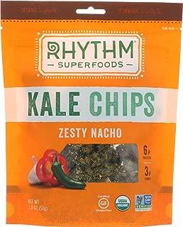 product image for RHYTHM SUPERFOODS CHIP KALE ZESTY NACHO ORG