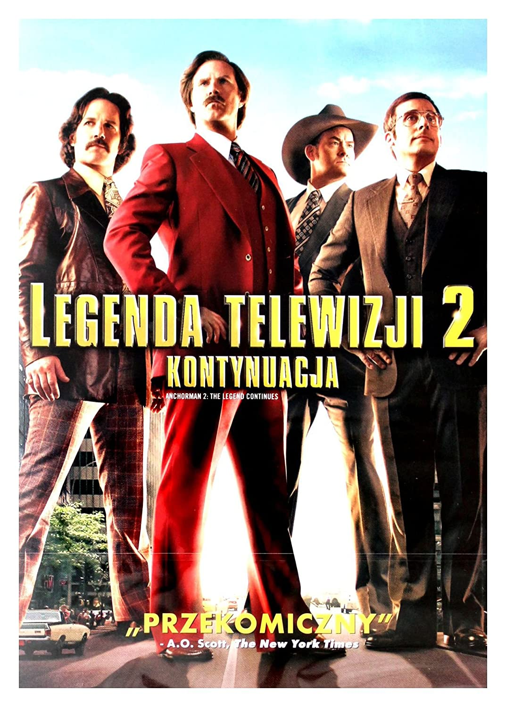 Anchorman 2: The Legend Continues DVD IMPORT No hay versión ...