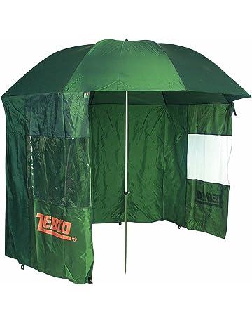 GRATIS Etui 15021 2 M/änner und Karpfengep/äck Schutz Regen Wind und UV Sonnen NECO Angelschirm /Ø220 cm Fischerschirm mit Umhang Schirmst/änder und Erdn/ägel