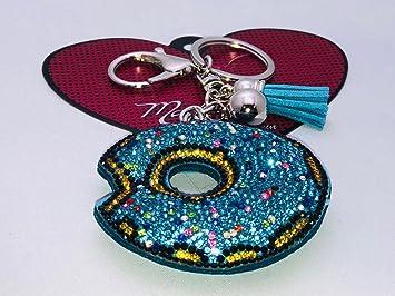 Madison K. Live Life Fun - Llavero con diseño de donut de ...