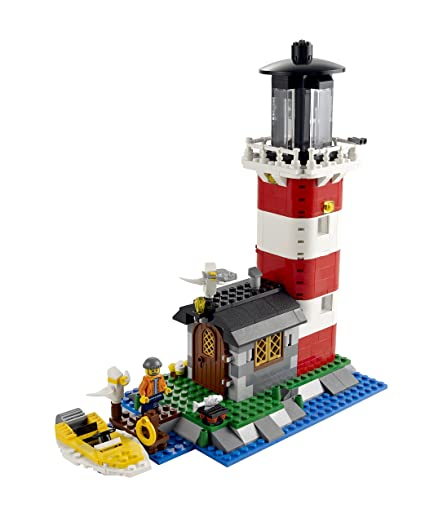 Amazon.com: LEGO: Creator: Lighthouse Island: Toys & Games