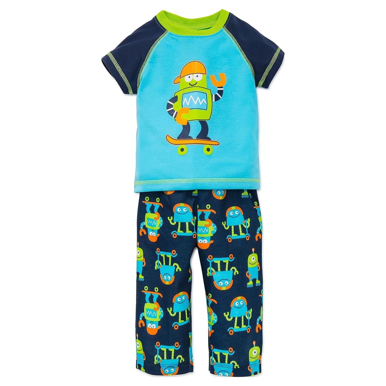 8a82cfa1f5 Amazon.com  Little Me Boys Pajamas 3 Piece Sleepwear Light-Weight Infant  and Toddler PJ s  Clothing