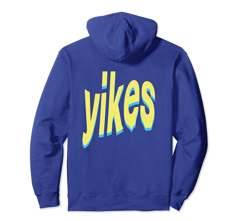 yikes - aesthetic vaporwave fashion harajuku hoodie-TH