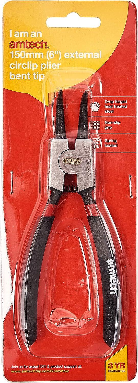 En tecnolog/ía 6 pulgadas alicates para arandelas W6050 Bent externa