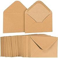 Lot de 100enveloppes papier kraft Sac à provisions