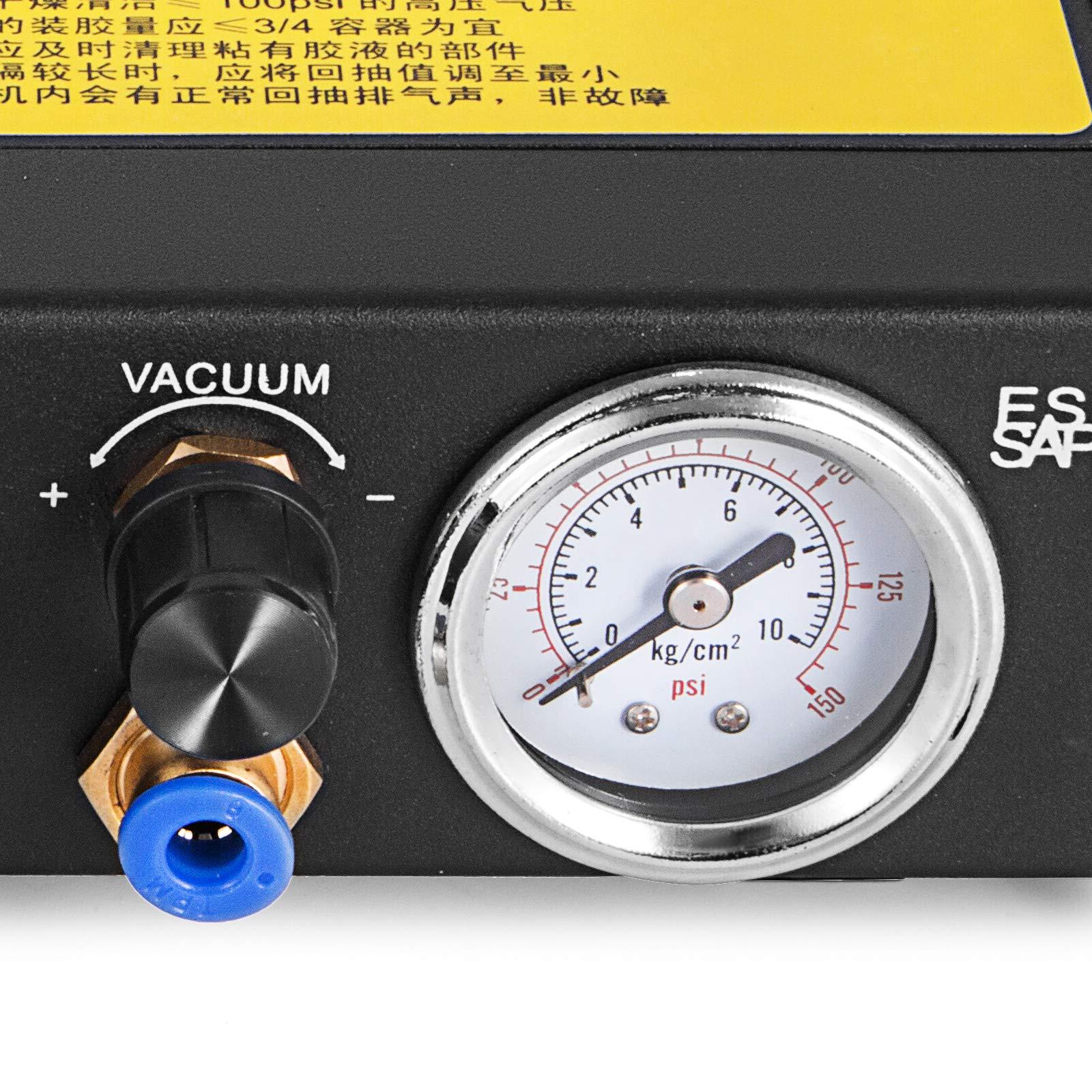 VEVOR Auto Glue Dispenser Dual Controller 24V DC Solder Paste Glue Dropper 982A Digital Display Solder Paste Liquid Controller Dropper Machine by VEVOR (Image #6)