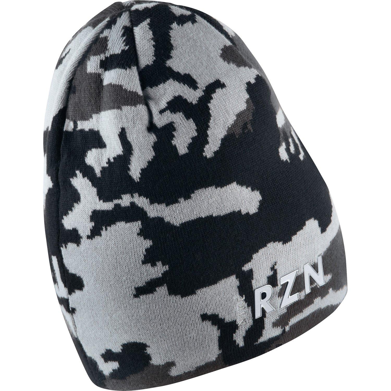 4abbe3a1f53 Amazon.com  Nike Tour Knit Beanie BLACK ANTHRACITE WOLF GREY WHITE  Clothing