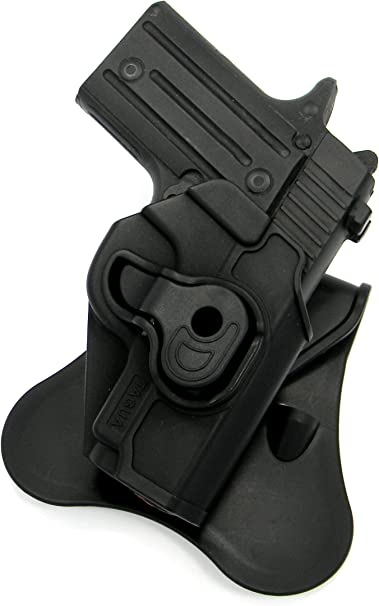 """TAGUA Right Hand Kydex Rotating Locking Paddle Holster for 5/"""" 1911 REMINGTON R1"""