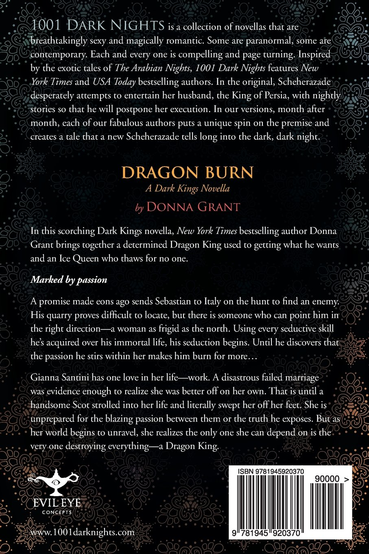 amazon com dragon burn a dark kings novella 9781945920370 donna