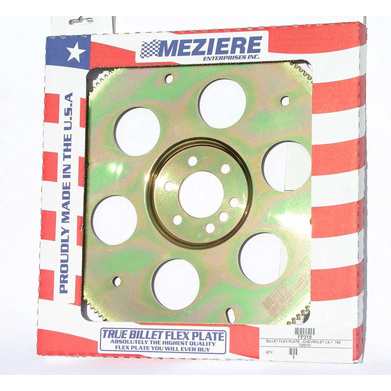 Meziere FP319 168 Tooth Billet Flexplate for GM LS1