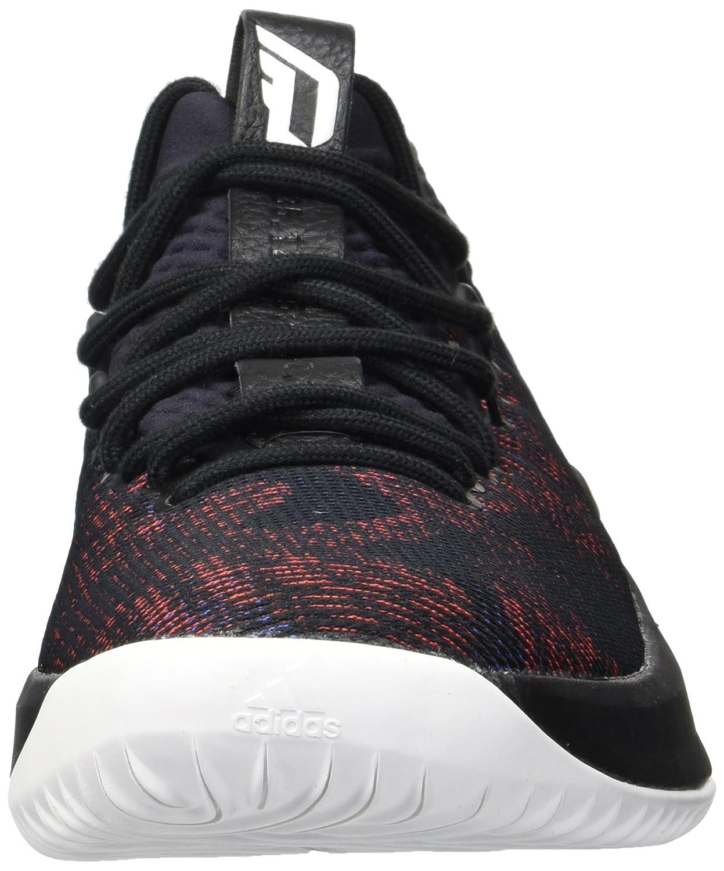 best service 0ac9e 56acf Adidas Dame 4 Shoe Mens Basketball Core Black-White