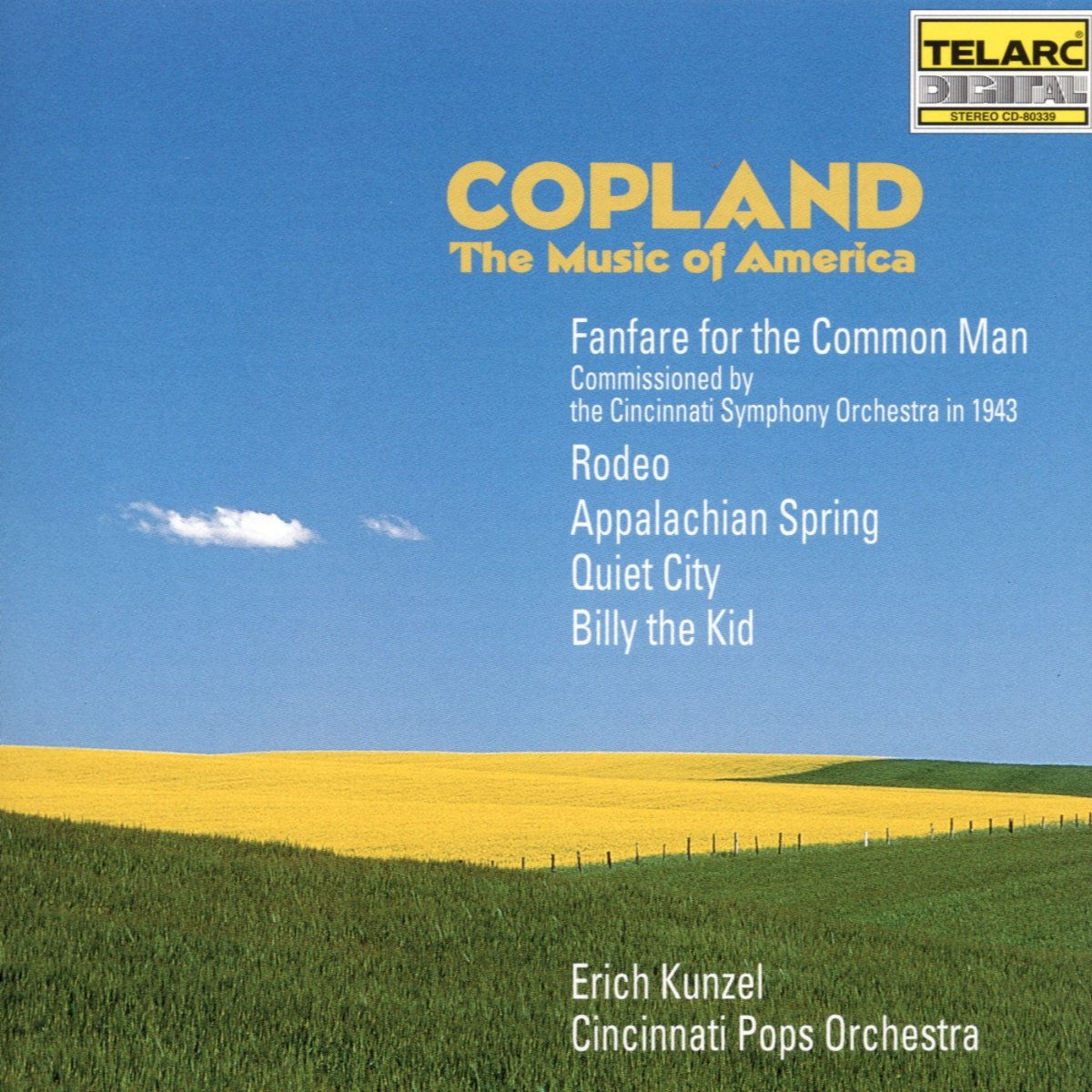 Copland: The Music of America by Telarc