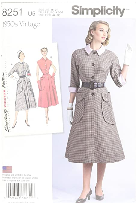 Simplicity Creative Patterns us8251u5 8251 Simplicity Pattern 8251 ...