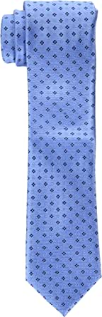 Tommy Hilfiger Men's Core Neat II Tie, Blue, One Size