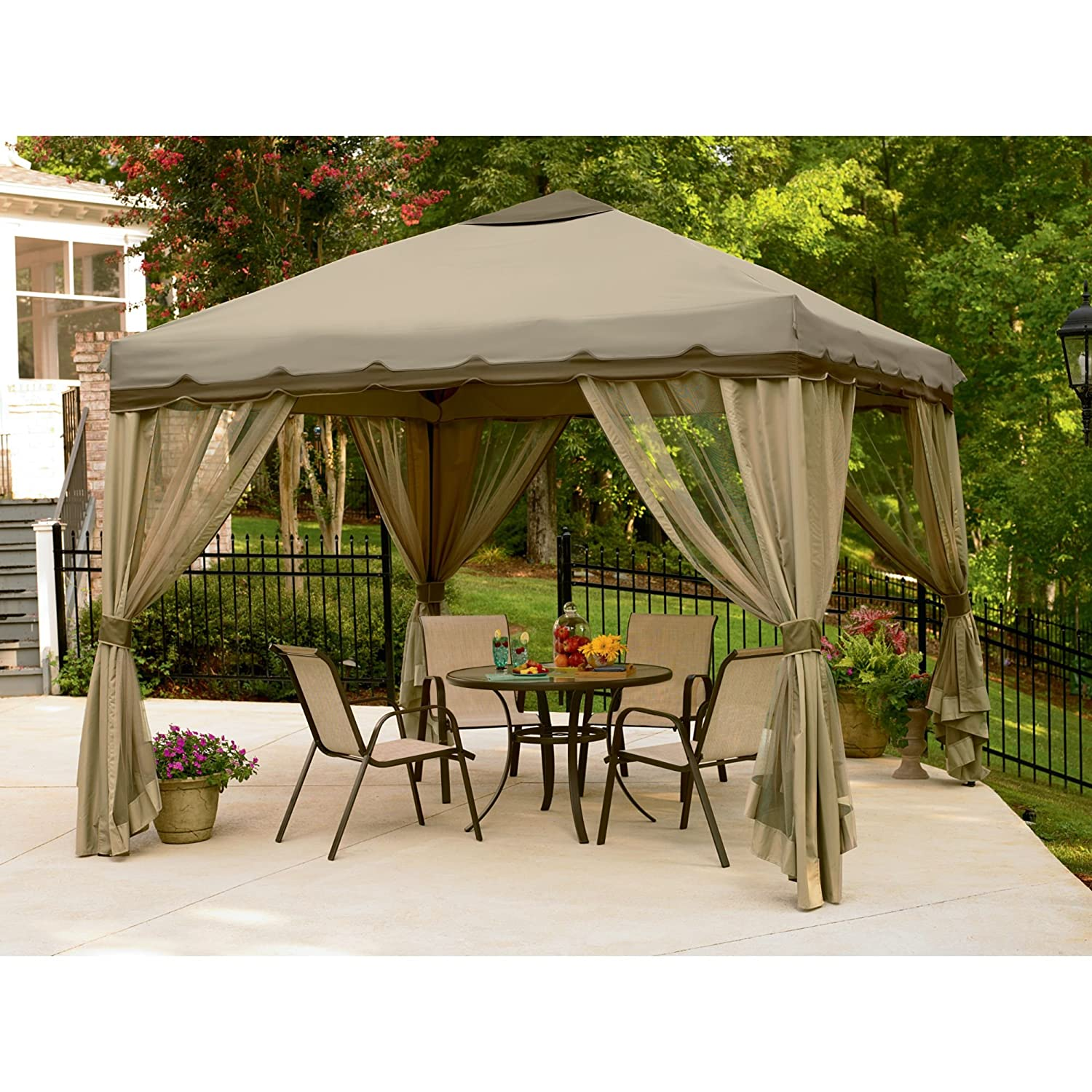 Patio Deck Canopy Home Design Ideas and