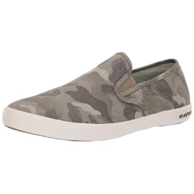 SeaVees Men's Baja Slip on Saltwash Sneaker   Fashion Sneakers