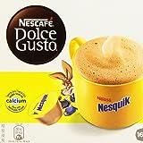 Nescafé Dolce Gusto - Nesquik - Cápsulas Sabor a Chocolate - 16 Cápsulas