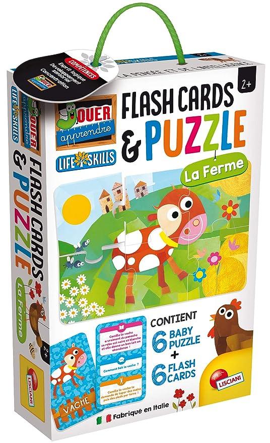 Lisciani Life Skills Juegos Educativos - Puzzle Baby La Granja ...