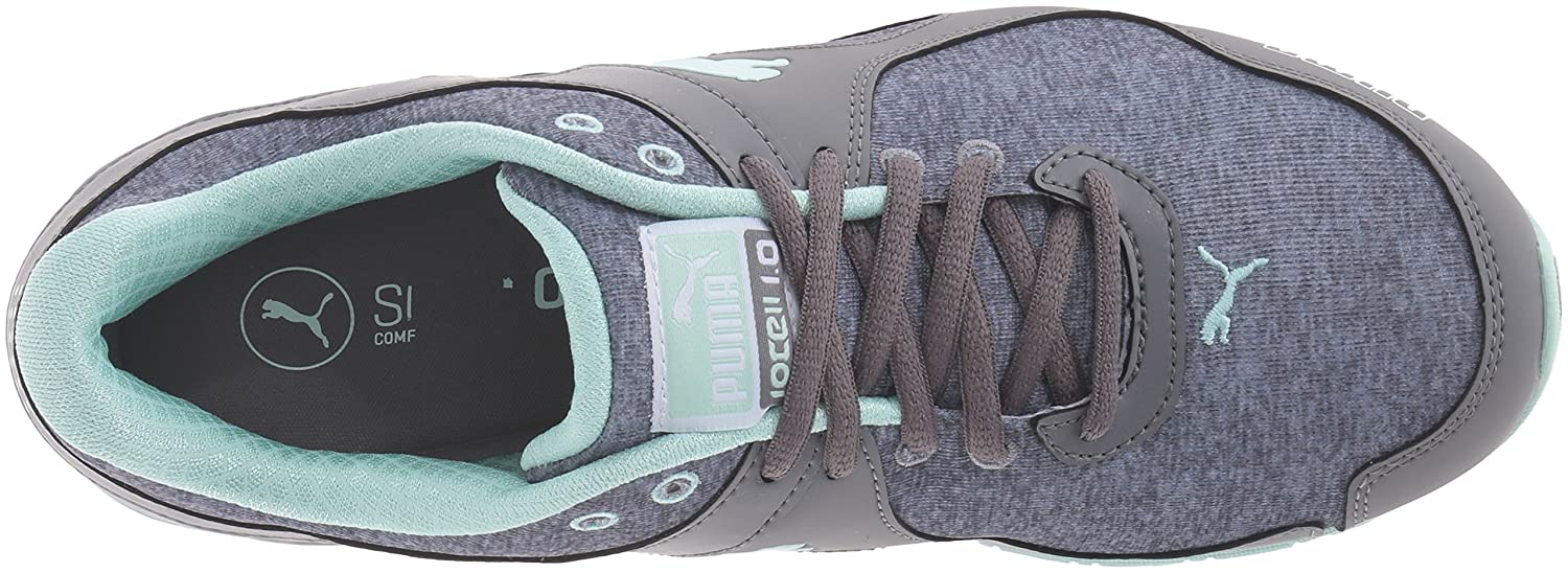 PUMA Women's Cell Riaze Heather Cross-Trainer Shoe B01EJBNSK4 9 B(M) US|Steel Gray/Drizzle/Bay
