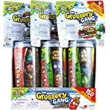 Grossery Gang Trash Pack Rotten Soda set of 4 Surprise Grossery's includes Storage Can - 3 Pack