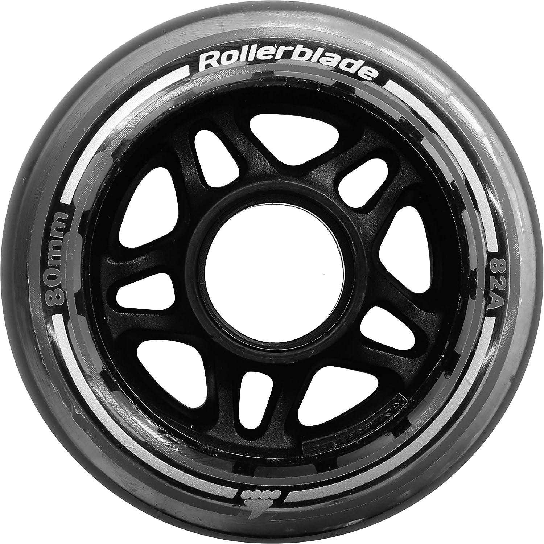 Rollerblade - Rueda de patinaje en línea ,80mm, 8 unidad