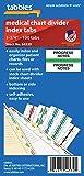 Tabbies Medical Chart Index Divider Tabs