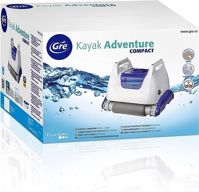 Gre RKA80C Kayak Adventure Compact - Robot Eléctrico Limpiafondos ...