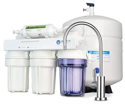 Weco Happy Birthday Mini Compact Undersink sistema de filtración de agua de ósmosis inversa