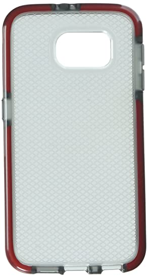 hot sales 33738 5e3af Tech21 - Evo Check Case for Samsung Galaxy S6 Cell Phones - Smokey/Red