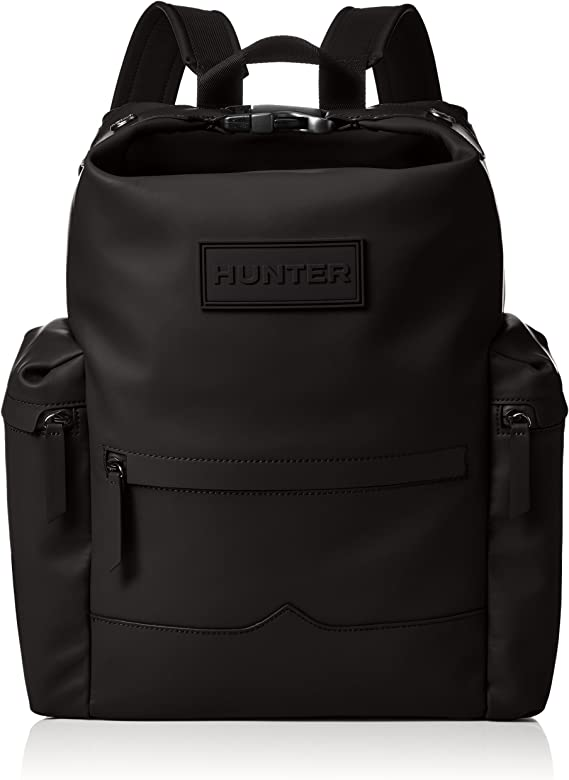 014023d0e47d Amazon | [ハンター] バックパック ORG TOPCLIP Backpack-RUB LTH BLACK ...