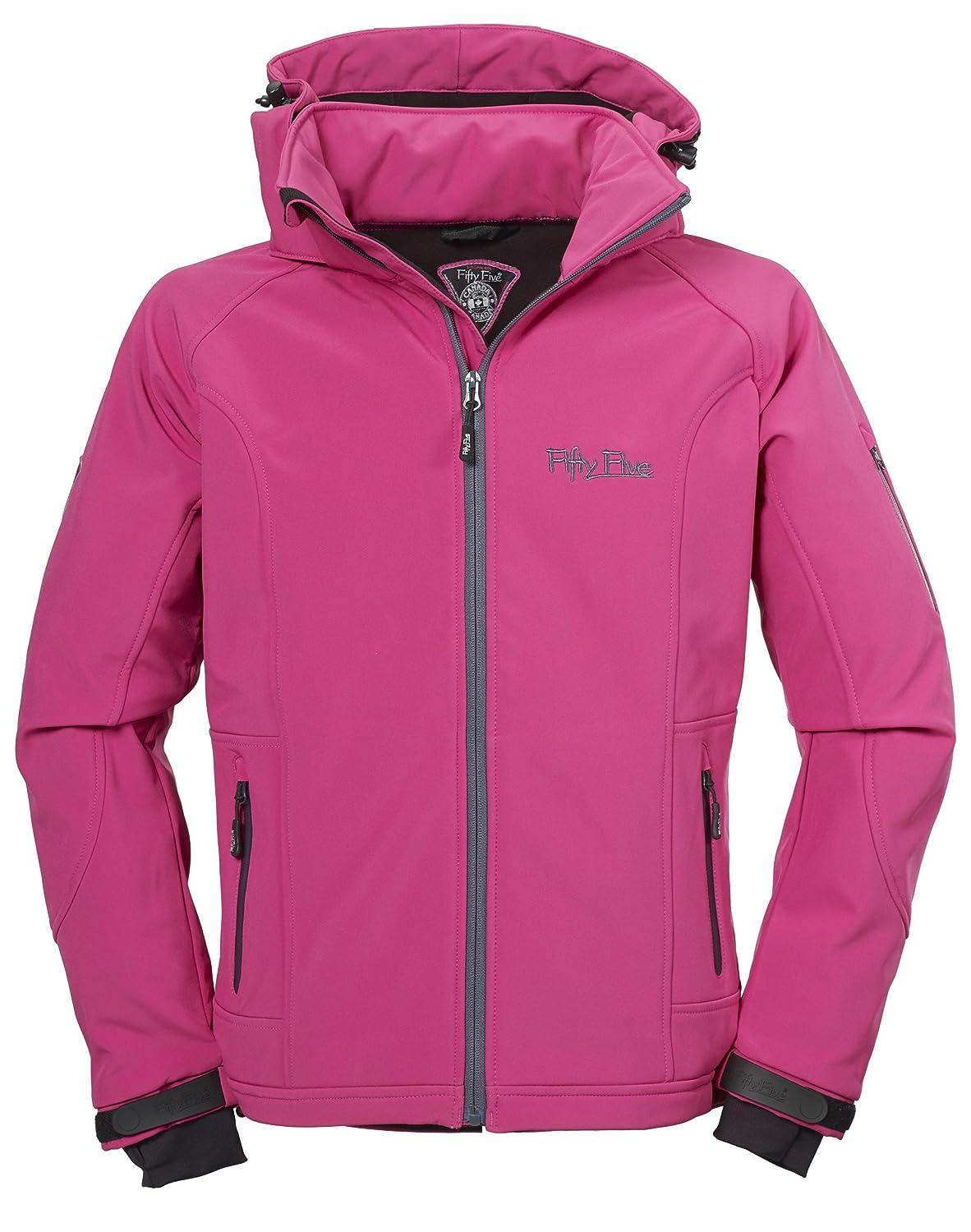 Softshell-Jacke | Funktions-Jacken für Damen von Fifty Five - Merrit - Outdoor-Bekleidung für Freizeit, Wandern oder Camping