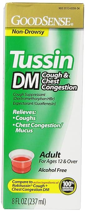 GoodSense Tussin DM Cough &amp...