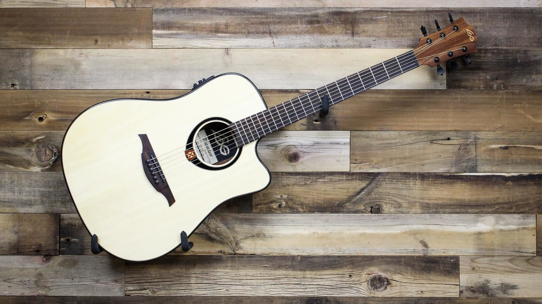 Lag Guitars Tramontane T80dce Dreadnought Cutaway Acoustic Electric Guitar Natural Buy Online In China At China Desertcart Com Productid 18034033