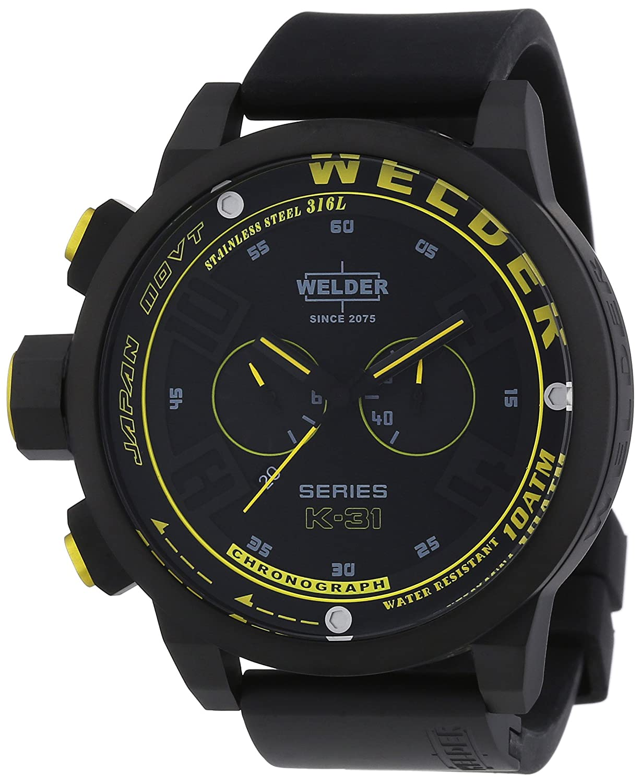 Welder Unisex-Armbanduhr Chronograph Quarz Kautschuk K31 2603