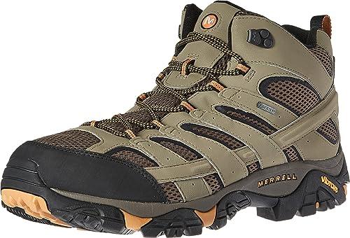 The Merrell Moab 2 mid GTX will keep your feet dry.