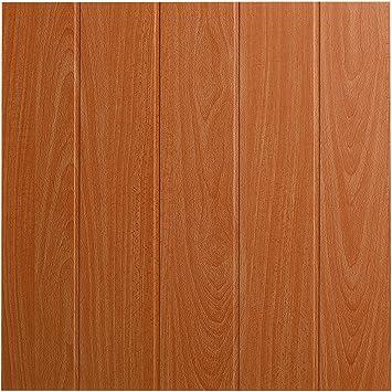 Decosa Deckenplatten Athen In Holz Optik 16 Platten 4 M2 Deckenpaneele In Buche Dekor Decken Paneele Aus Styropor 50 X 50 Cm Amazon De Baumarkt