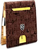 GenTo® Mens Designer Wallet New York con Pinza para Billetes sin Monedero - Aprobado por el TÜV, protección NFC Design…