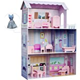 "Filii - Dreamland Tiffany for 12"" Doll House - Pink & Beauty Accessories Set, KYD-10922A-1"
