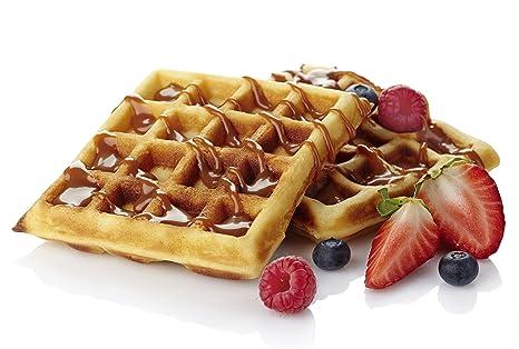 Mezcla para Waffles Estilo Belga LIBRE DE GLUTEN: Amazon.es: Alimentación y bebidas