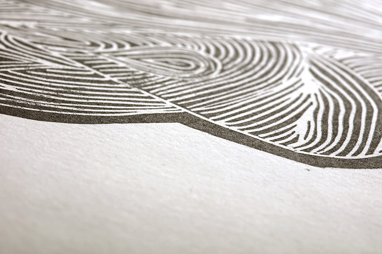 Clairefontaine 975846/C Paquete de 5/hojas papel Jap/ón sint/ética 130/g 64/x 96/cm