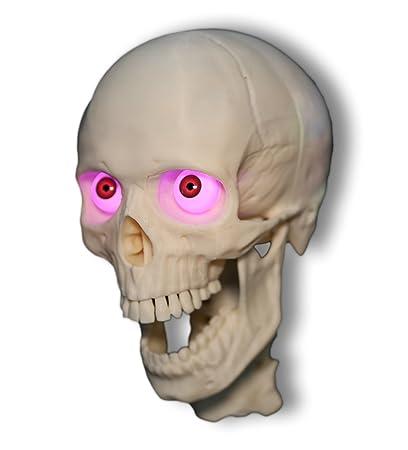 Animatronic Programmable 3 Axis Talking Skull From Halloween Skulls Halloween Prop
