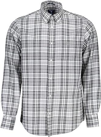 Gant Camisa Cuadros Winter Twill Mel Plaid Verde